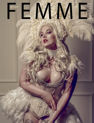 Femme Rebelle Magazine Oct 2019 BOOK 1 - Maria Mantis Cover