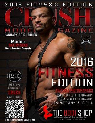 CRUSH MODEL MAGAZINE 2016 FITNESS EDITION