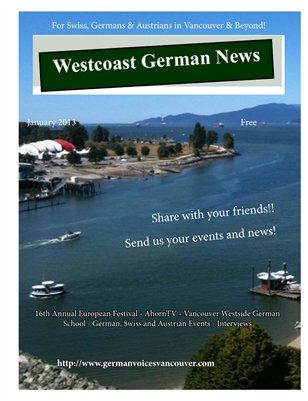 Westcoast German News January2013