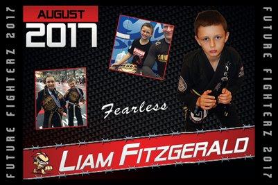 Liam Fitzgerald Cal Poster 2017