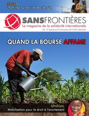 Magazine Sans Frontières (Num.27/Sept-Nov 2015)