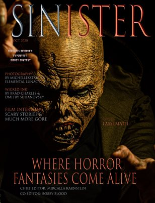 SINISTER Magazine-Issue #1-Lassi Matti Cover