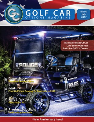 Golf Car Options Magazine - July 2017