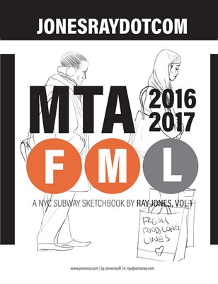 MTAFML: NYC Sketchbook Vol. 1