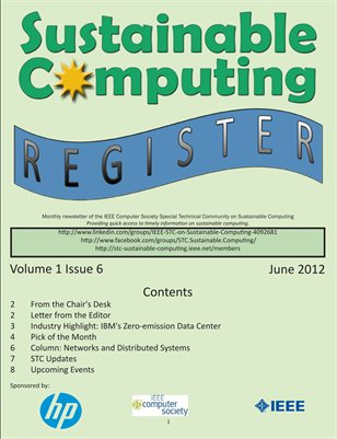 Sustainable Computing Register - June 2012