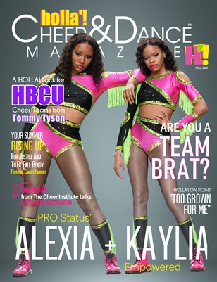 Volume 7 Year 7: HOLLA'! Cheer and Dance Magazine - Fall 2020