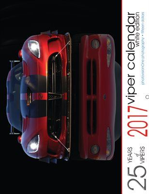 2017 25 Years of Viper Calendar (Standard)