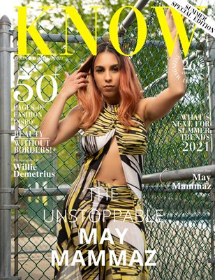 KNOW magazine_Cover_Unstoppable May