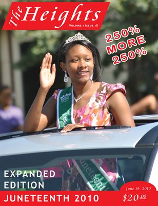 Volume 1 Issue 18 - June 19, 2010