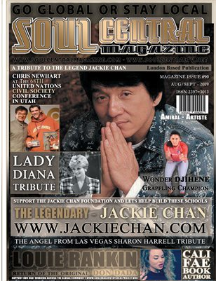 Soul Central Magazine Edition 90 Jackie Chan Tribute Edition