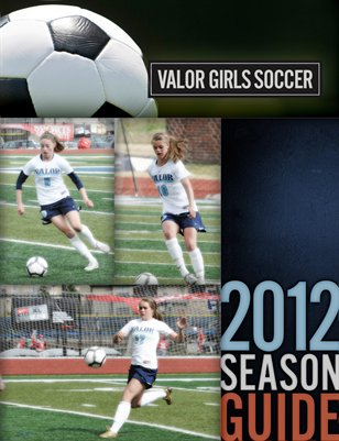2012 Girls Soccer Season Guide