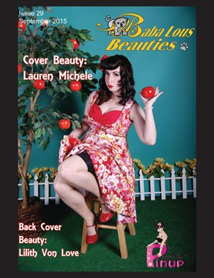 Baba Lous Beauties- Anything Pin Up Issue 29: September 2015