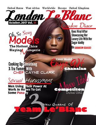 London Le'Blanc Magazine Vol. 31-Enyo