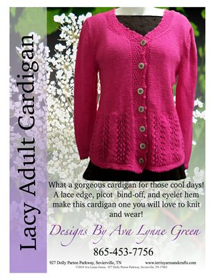 Lacy Adult Cardigan