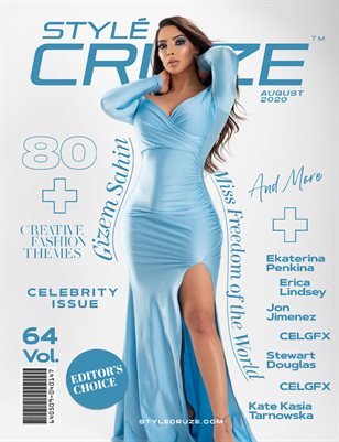 AUGUST 2020 Issue (Vol: 64) | STYLÉCRUZE Magazine