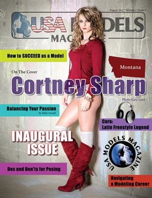 USA Models Magazine • Inaugural Issue • Vol 1 • Issue 1
