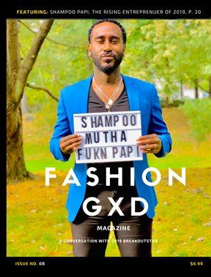 "Fashion Gxd Magazine ""Shampoo Papi"""