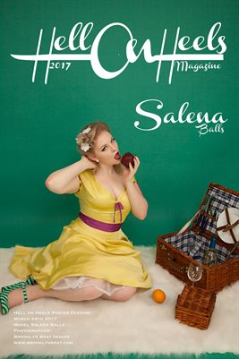 Hell on Heels Magazine March 24th 2017 poster feature Salena Balls