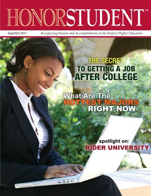 Honor Student Magazine: Sept/Oct 2011