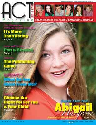 ACT Like A Child Magazine Issue 6