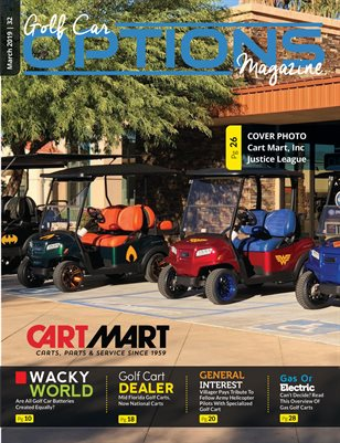 Golf Car Options Magazine - March 2019