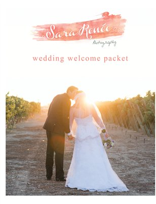 Welcome Wedding Packet