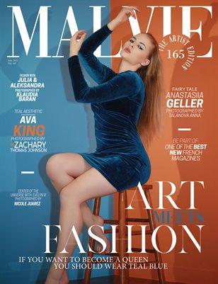 MALVIE Magazine The Artist Edition Vol 165 March 2021