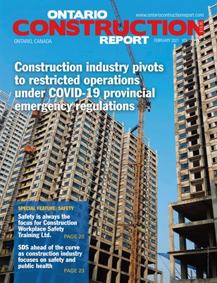 Ontario Construction Report (February 2021 issue)