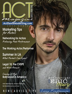 ACT Dance Model Sing Magazine Issue 34