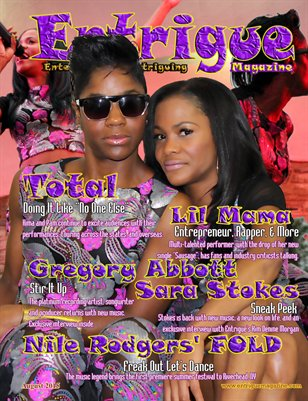 Entrigue Magazine August 2015