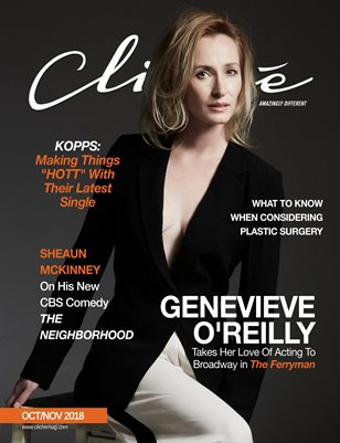 Cliché Magazine October/November (Genevieve O'Reilly)