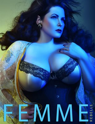 Femme Rebelle Magazine APRIL 2017 - BOOK 2 V's Anchor Studio Cover