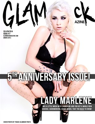 5th Anniversary Issue 17 with Lady Marlene Cover 3 of 3