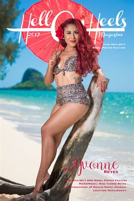 HOH Magazine June 30th 2017 Poster Feature Miss Yvonne Reyes