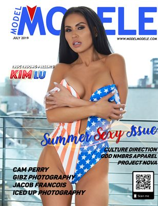 JULY 2019 - SUMMER SEXY ISSUE - KIM