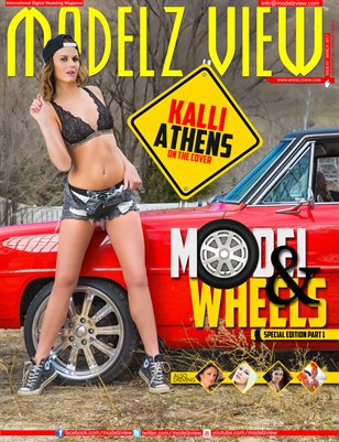 MODELZ VIEW MARCH 2017 - MODEL & WHEELS SPECIAL EDITION PART 1