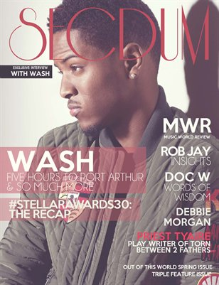 Secdum Magazine:  OUT OF THIS WORLD (#2)- Spring Issue 7