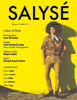SALYSÉ Magazine | Vol 4 : No 116 | December 2018