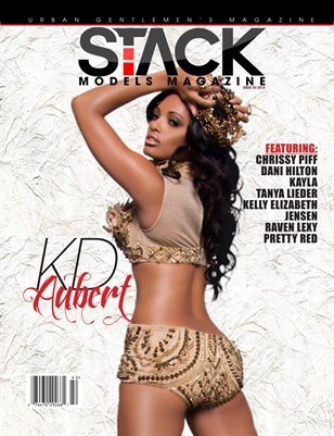 Stack Models Magazine Issue 20 KD Aubert Cover