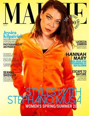 MALVIE Magazine The Artist Edition Vol 100 January 2021