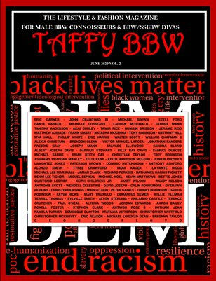Taffy BBW Magazine: June - Black Lives Matter Special Issue