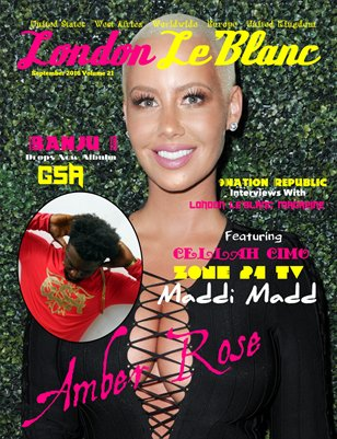 London Le'Blanc Magazine Vol. 21-Amber Rose