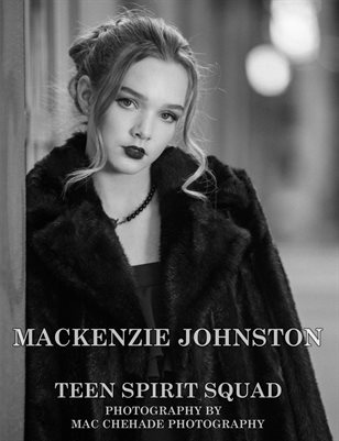 Mackenzie Johnston (Black & White) | Teen Spirit Squad