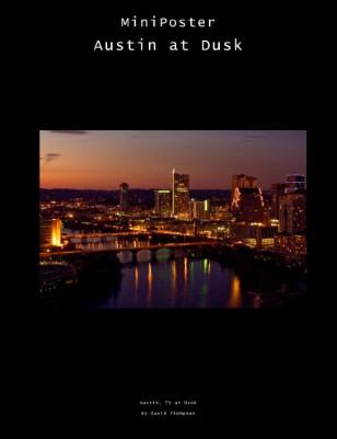 Austin, TX at dusk