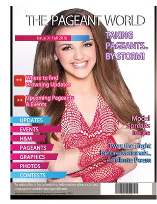 The Pageant World Magazine Issue 01