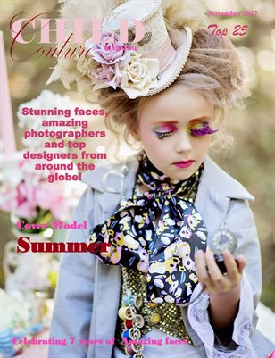 Child Couture Magazine Top 25 2017