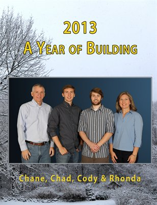 2013 A Year of Building