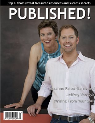 PUBLISHED! featuring Suzanne Fauter-Barns & Jeffrey Van Dyk