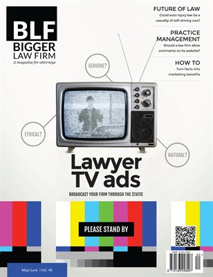 Lawyer TV Advertising - May / Jun 2016