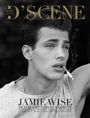 D'SCENE MAGAZINE JUNE 2014 ALTERNATE COVER